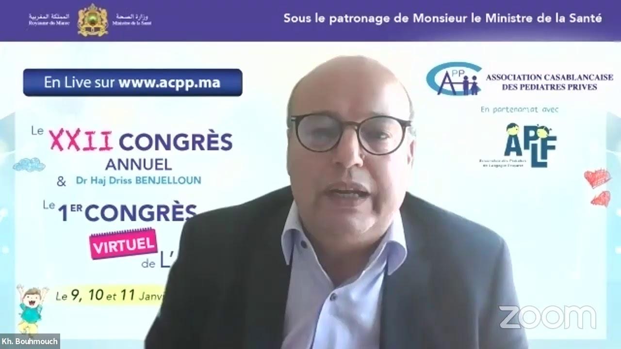 ACPP – NOUVEAU-NÉ DE MÈRE DIABÉTIQUE: QUELLES RECOMMANDATIONS DE BONNES PRATIQUES AU MAROC?