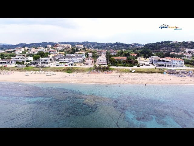 Kanali beach drone flight