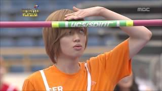 getlinkyoutube.com-K-Pop Star Olympics, High Jump #18, 남자 높이뛰기 20120726
