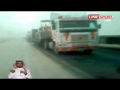 الرئيس / مقطع يوتيوب يكشف تهور و إستهتار سائق لأحد باصات المعلمات