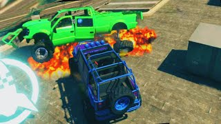 getlinkyoutube.com-BUMPER EXPLOSION CARS! (GTA 5 Funny Moments)