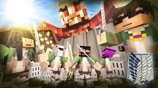 getlinkyoutube.com-Minecraft ATTACK ON TITAN HIDE N SEEK!! /w Facecam