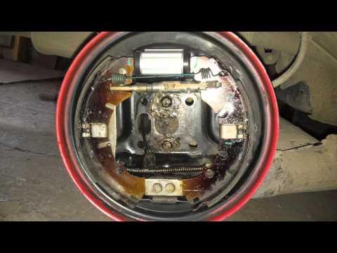 Регулировка ручника и задних тормозов Ford Fusion