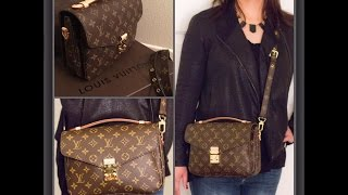 Louis Vuitton Pochette Metis and Chanel earring Unboxing (Re-upload)