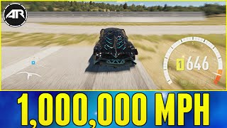 getlinkyoutube.com-Forza Horizon 2 : 1,000,000 MPH WHEEL SPEED!!!