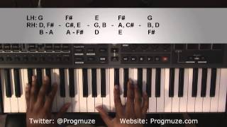 getlinkyoutube.com-Piano Lesson | Justin Timberlake | Until the End of Time