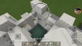 getlinkyoutube.com-Minecraft PEสอนสร้างบ้านสไตล์อณานิคม part1