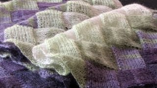 getlinkyoutube.com-Learn to Knit Entrelac: Part Two