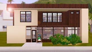 getlinkyoutube.com-Sims 3 House Building - Grunge Loft