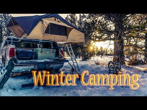 Modern Bushcraft Survival Winter Camping 2016 Meetup