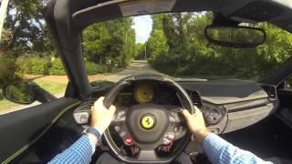getlinkyoutube.com-2013 Ferrari 458 Spider POV Test Drive