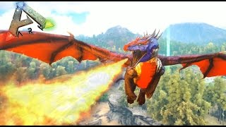 getlinkyoutube.com-MINIDRAGONES CON ARMADURA!! - ARK survival Evolved #33 - Nexxuz