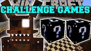 getlinkyoutube.com-Minecraft: PHANTOM FOXY CHALLENGE GAMES - Lucky Block Mod - Modded Mini-Game