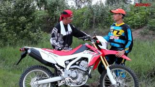 getlinkyoutube.com-Riding Magazine#204 :Dirtbike Riding Test - CRF250L [HD]
