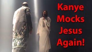 getlinkyoutube.com-Kanye West mocks Jesus again!