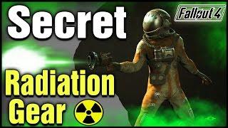 Fallout 4: Secret Unique Gamma Gun, & Hazmat Radiation Protection Suit Locations!