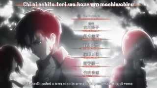 getlinkyoutube.com-Shingeki no Kyojin Opening (Karaoke Effects)