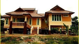 getlinkyoutube.com-บ้านชั้นเดียวยกพื้นไทยประยุกต์ จ.ขอนแก่น