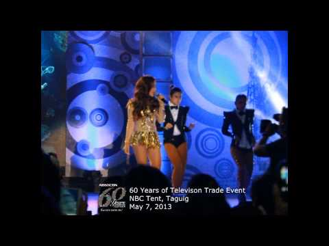 Kim & Maja, nag-showdown sa ABS-CBN 60 Years Trade Event