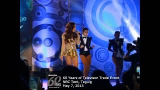 getlinkyoutube.com-Kim & Maja, nag-showdown sa ABS-CBN 60 Years Trade Event