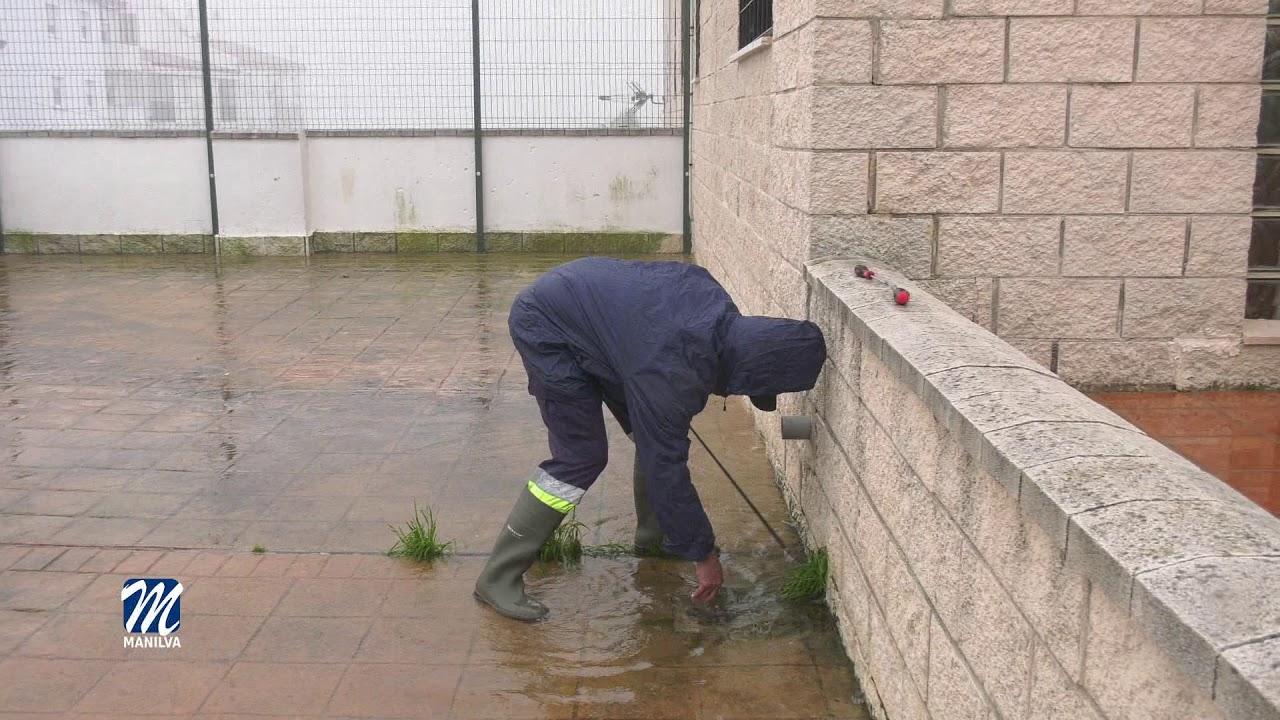 Activado el dispositivo de emergencia por fuertes lluvias y viento