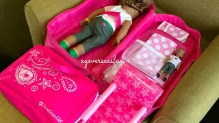 getlinkyoutube.com-How To Travel With Your American Girl Doll ~ Two Night Hotel Vacation Stay