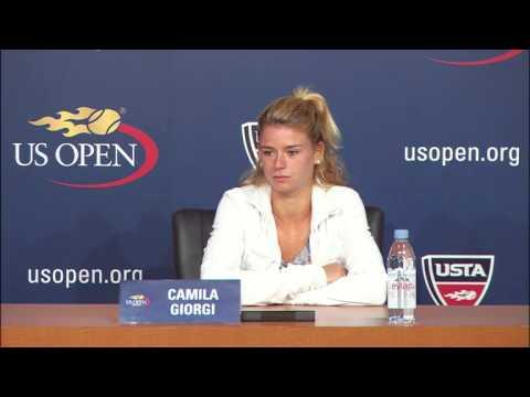 2013 US Open: Camila Giorgi Press Conference