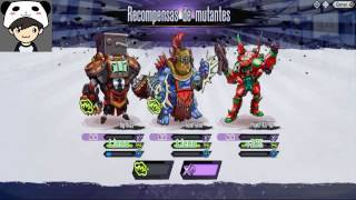 getlinkyoutube.com-Mutants Genetic Gladiators : PvP ( Evos Altos ) #28