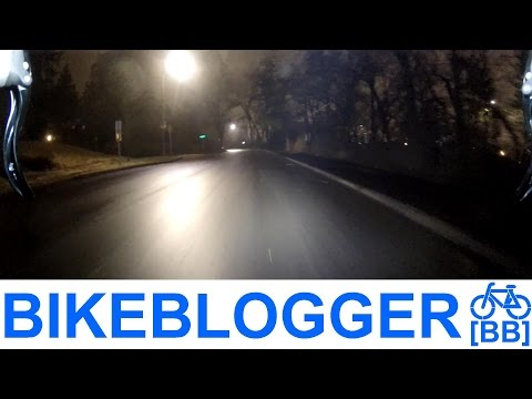 2 Million Views! Foggy Night Commute Bike Blogger