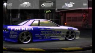NFSU2 - CAR MODS - Skyline R32 GTS-t