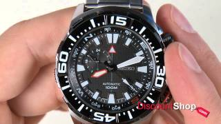 getlinkyoutube.com-Seiko Superior Automatic Compass SSA049J1 - review by DiscountShop.com