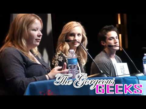 The Vampire Diaries Panel at C2E2 with Michael Trevino, Candice Accola, and Julie Plec