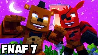 getlinkyoutube.com-Minecraft Teen Titans GO FIVE NIGHTS WITH FREDDY REAL LIFE NIGHT #1 (FNAF SISTER LOCATION Roleplay)