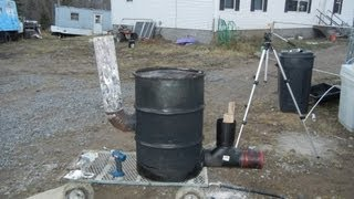 "getlinkyoutube.com-Building 6"" stove pipe rocket stove heater 55 gallon drum version part 1 of 2"