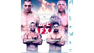 getlinkyoutube.com-UFC on FX 6 Pearson vs Sotiropoulos Predictions Hector Lombard vs Rousimar Palhares