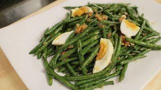 Long Bean Stir-Fry Recipe ผัดถั่วฝักยาว - Hot Thai Kitchen!