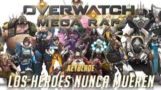 getlinkyoutube.com-OVERWATCH MEGA RAP (¡¡21 HÉROES!!) - Los Héroes Nunca Mueren | Keyblade ft. Varios [Prod. Vau Boy]