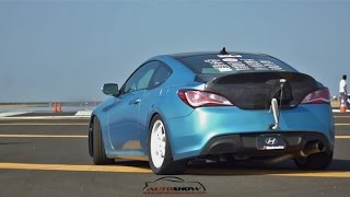 Incredible 1000 HP Hyundai Genesis Coupe by Bisimoto Engineering