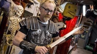 getlinkyoutube.com-Adam Savage's Gladiator Armor