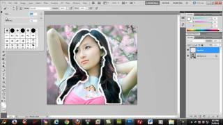 getlinkyoutube.com-Doi mau toc bang photoshop - Change hair color in Photoshop.mp4