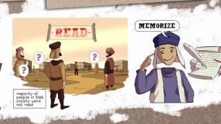 getlinkyoutube.com-Illustrated Lesson from surah Al-Alaq | Nouman Ali Khan | PART 1