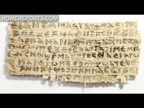 Harvard Professor  Coptic Papyrus does not prove that Jesus had a wife