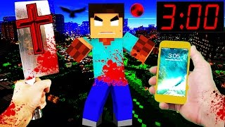 getlinkyoutube.com-Do NOT Play Minecraft Pocket Edition in REAL LIFE at 3:00 AM!!!