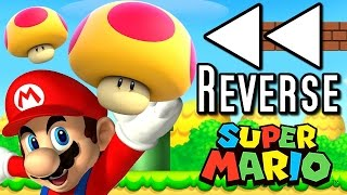 getlinkyoutube.com-Super Mario ALL MEGA MUSHROOMS in REVERSE (Wii U, 3DS, DS)