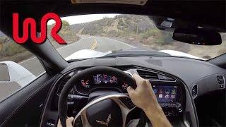 757 Horsepower Callaway Corvette Z06 SC757 - POV Canyon Drive