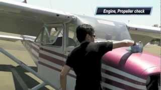 getlinkyoutube.com-My long solo X-country flight KPOC - KCMA - KSBD