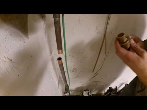 Install a ball valve on main water line for Zooz Z-Wave Plus Gas/Water Valve Control ZAC03