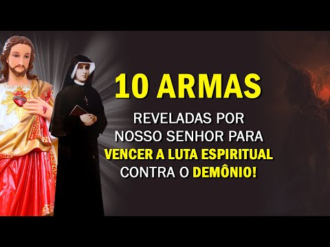 Armas do Coração de Jesus para Vencer a Guerra Espiritual