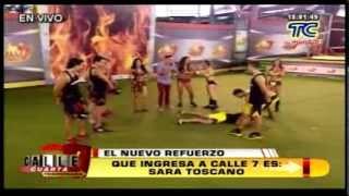 Sara Toscano Nueva Competidora Calle 7