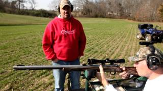 getlinkyoutube.com-Sniper Muzzleloader's by Knight Rifles, 100% American Made.